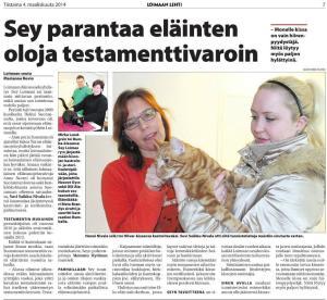 Loimaan Lehti 4.3.2014